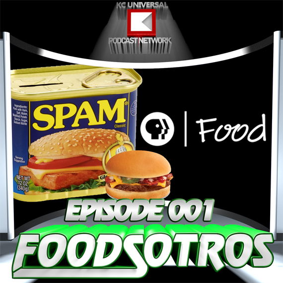 FOODSOTROS: The Podcast - Episode 001 Spam, burgers and public TV cooking shows!