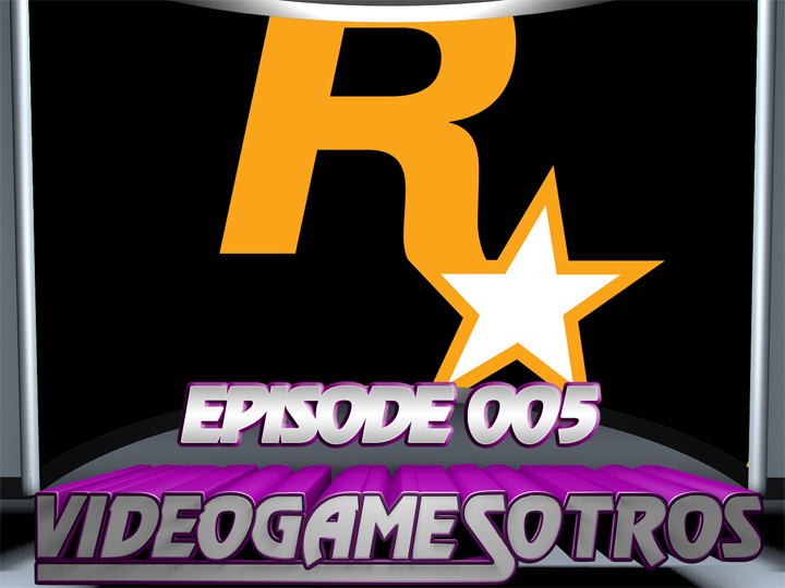VIDEOGAMESOTROS: The Podcast EP005 - 'nVidia's Cloud Gaming, Sonic the Hedgehog Movie and Rockstar Games'